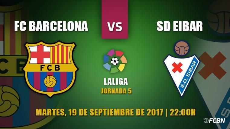 Barça-Eibar: Rotaciones en casa y a ganar por Dembélé