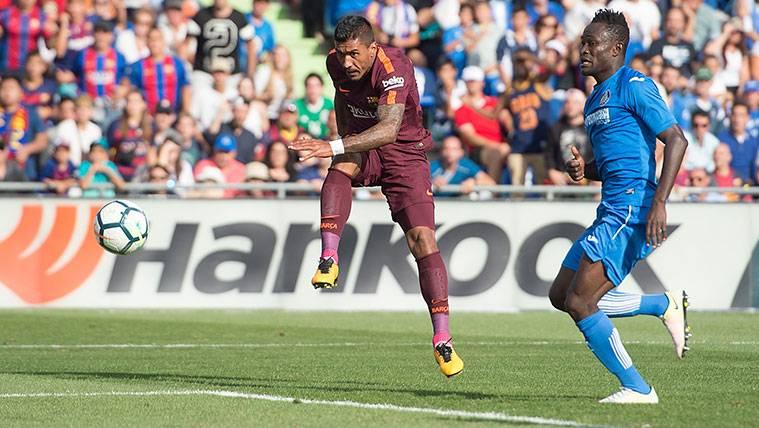El gol de Paulinho hace respirar a Robert Fernández