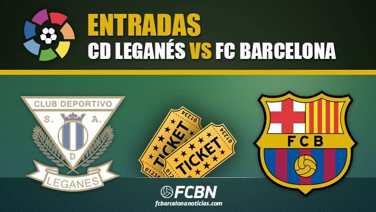 Entradas Leganés vs FC Barcelona