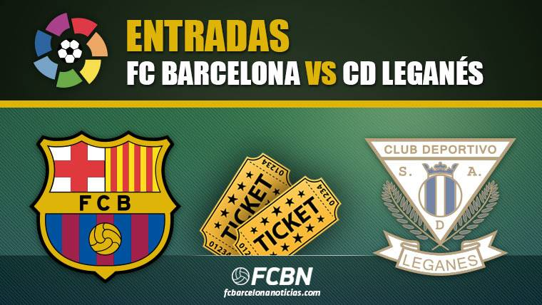 Entradas FC Barcelona vs Leganés