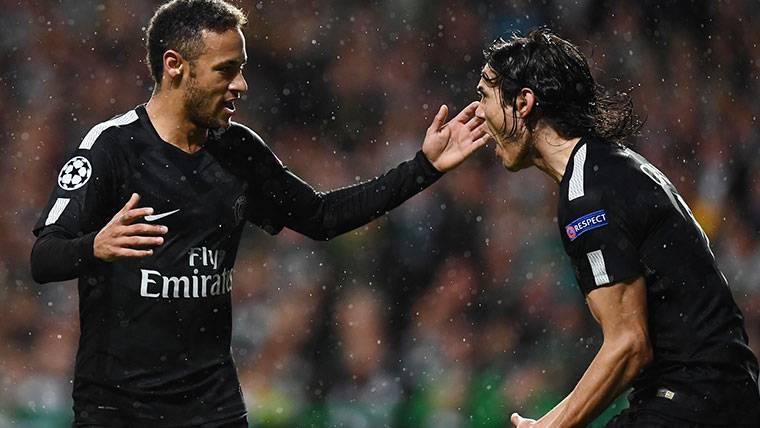 ¡Neymar estaría exigiendo al PSG el traspaso de Cavani!