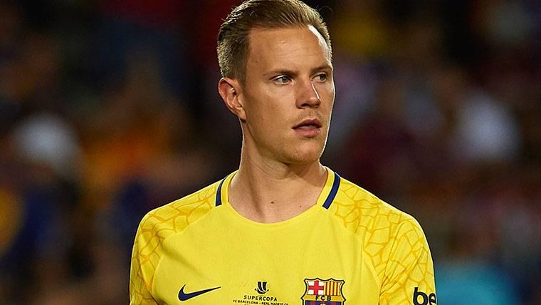 Ter Stegen volvió a 'salvar' al Barça con una parada valiosa