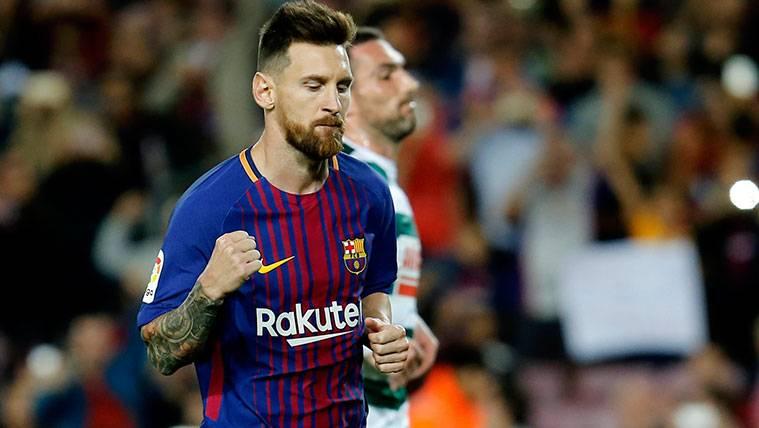 Messi agranda su leyenda y alcanza 553 goles con el Barça