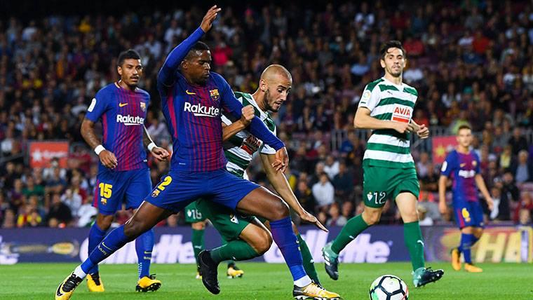 Semedo cada vez se parece más al Dani Alves del Barça