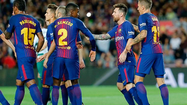 HAY BANQUILLO: Profundidad en la plantilla del Barça 2017-18