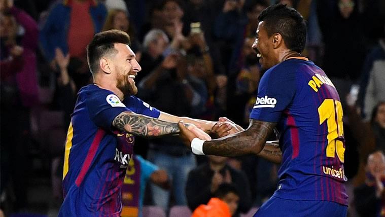 Paulinho no encaja pero empieza a cuajar en el FC Barcelona