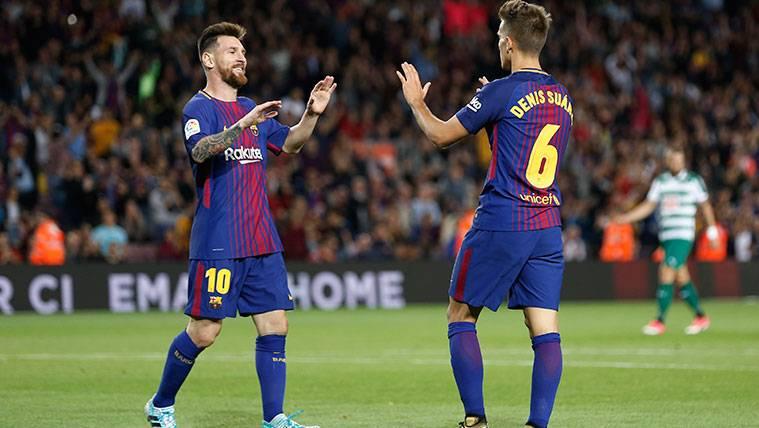 El Barça vuelve a ser efectivo con una delantera sin puntas