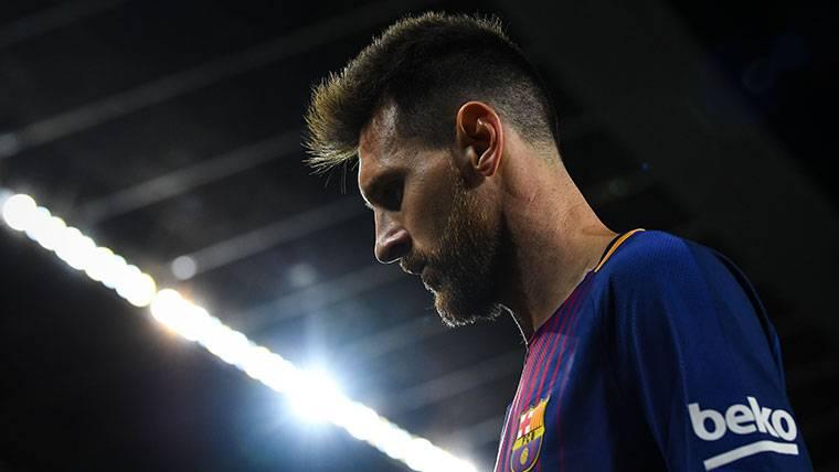 Mensaje ambicioso de Messi tras el 'póker' de goles al Eibar