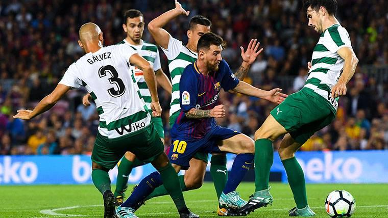 Escandaloso promedio goleador de Messi en el FC Barcelona
