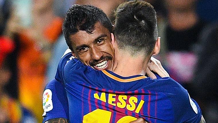 Messi-Paulinho, la nueva conexión de moda en el Barça