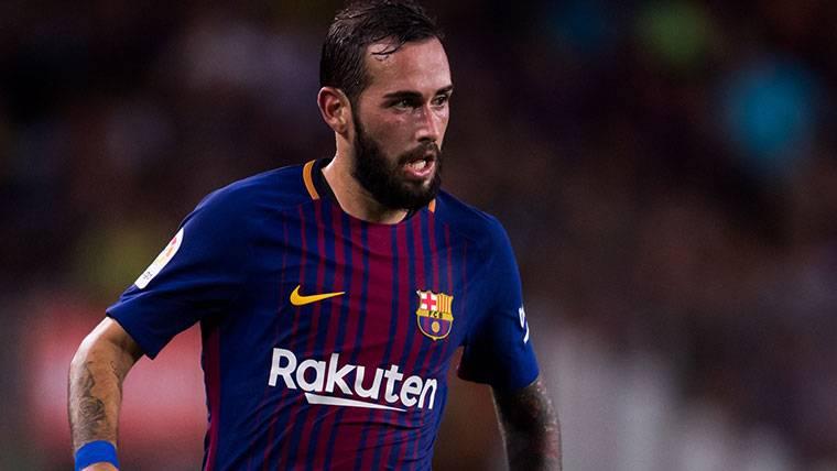Aleix Vidal puede tener un nuevo rol en el Barça 2017-18