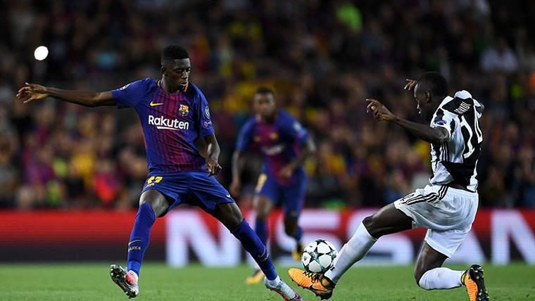Novedades sobre la recuperación de Ousmane Dembélé
