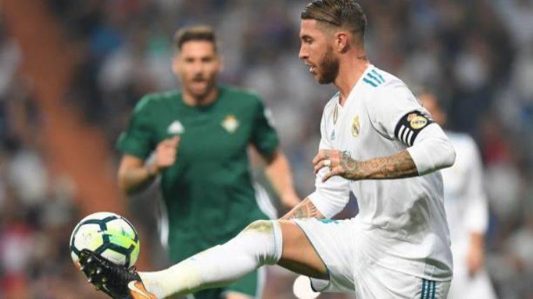 Ramos se calienta y vuelve a hablar de los árbitros