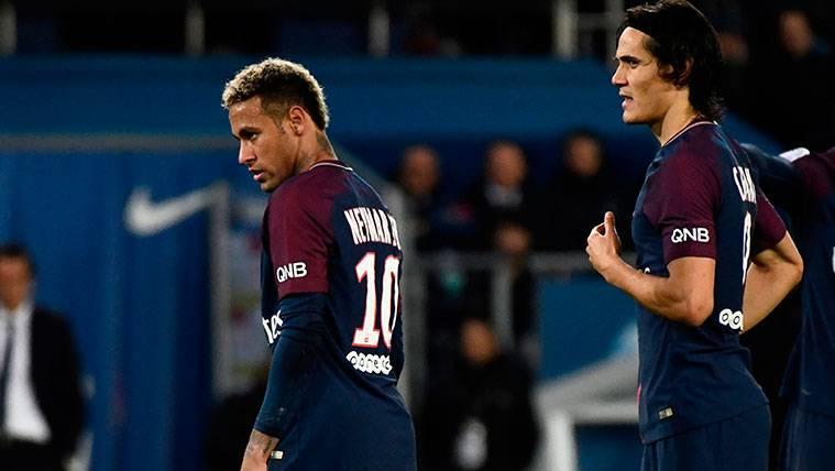 Filtran el verdadero motivo de la disputa entre Cavani y Neymar