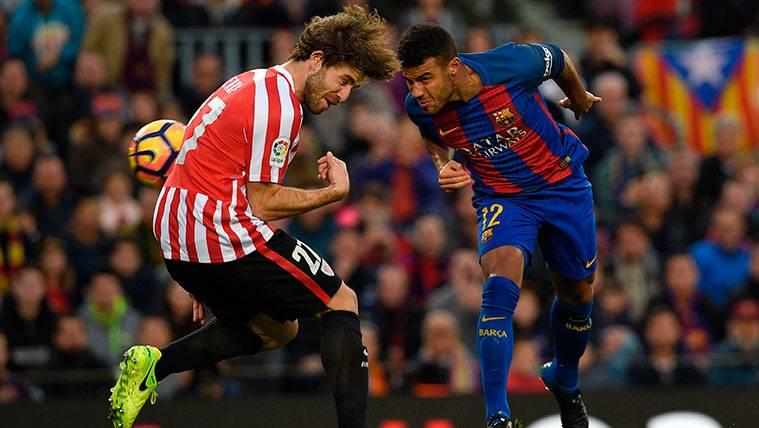 El FC Barcelona se une a las felicitaciones a Yeray Álvarez