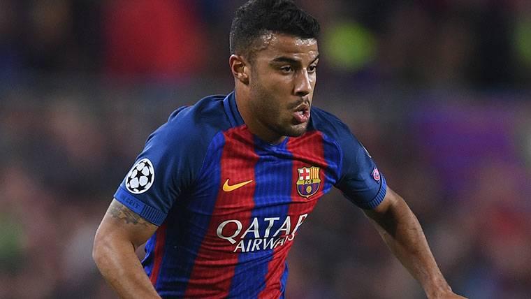 Ya hay fecha para la reaparición de Rafinha con el Barça