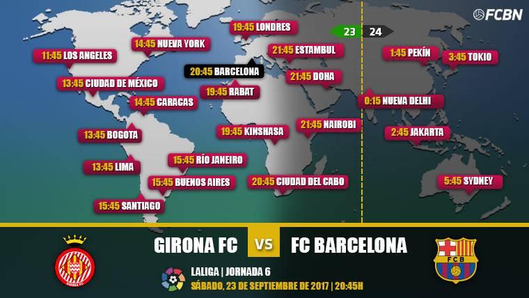 Cuándo y dónde ver el Girona vs FC Barcelona
