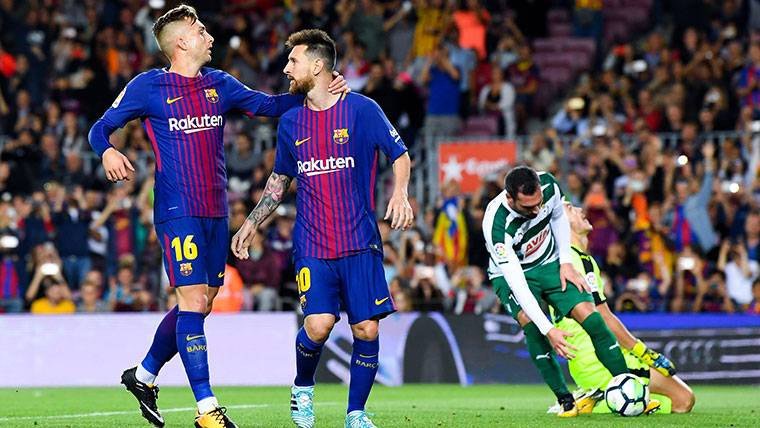 El gol no es sólo tarea de Leo Messi en el FC Barcelona