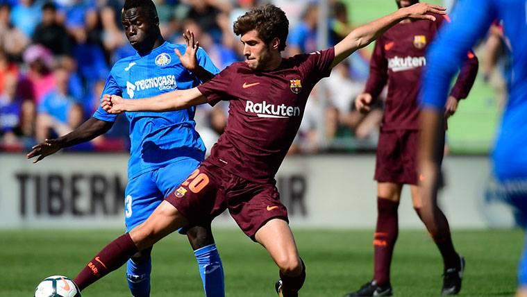 Sergi Roberto, la gran duda del FC Barcelona para Girona