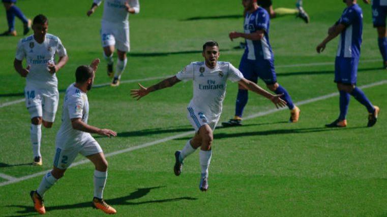 El Real Madrid gana en Vitoria pidiendo la hora