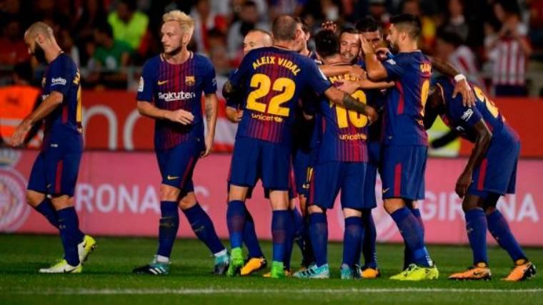 Otro gol en propia puerta aumenta la renta del Barça