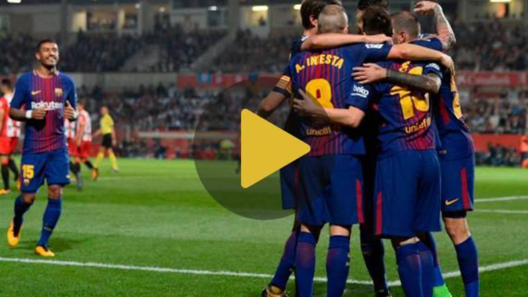 Vídeo resumen: Girona 0 FC Barcelona 3 (LaLiga J6)