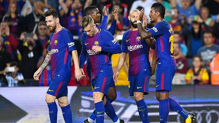 Sólo tres clubes europeos igualan el gran momento del Barça