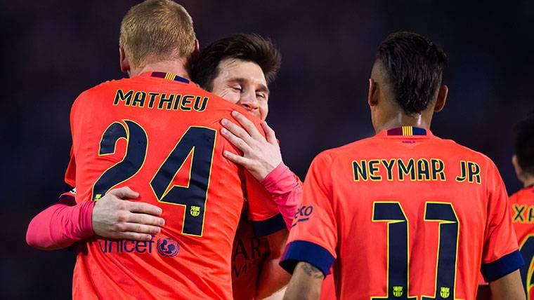 La curiosa 'fórmula' de Mathieu para defender a Leo Messi