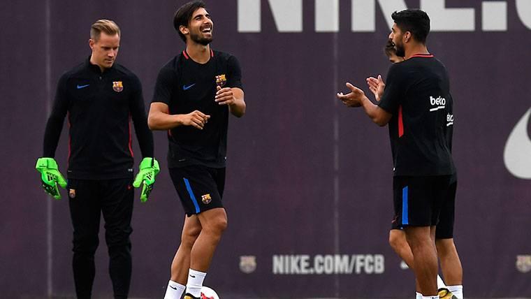 """André Gomes: """"Jugar en el Barcelona no es para todos"""""""