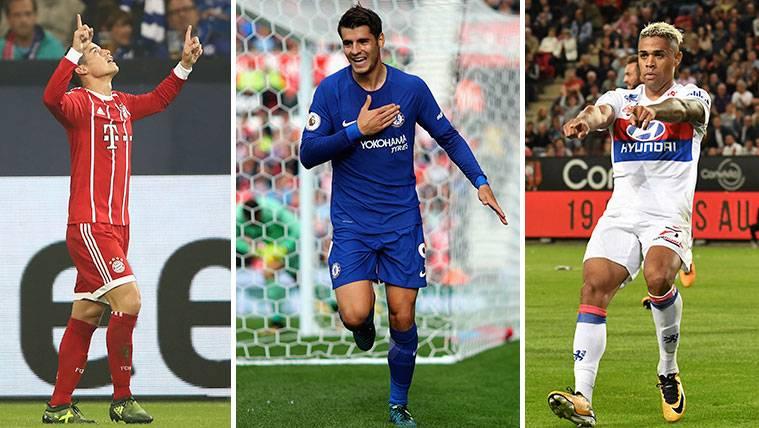 James, Morata y Mariano hacen sonrojar al Real Madrid