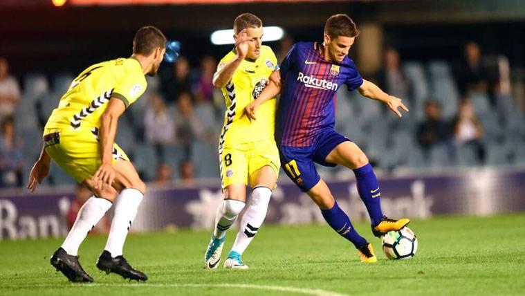 El filial del Barça perdona al Lugo... Y lo acaba pagando