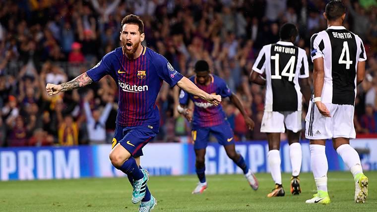 Messi quiere distanciarse de Cristiano también en Champions