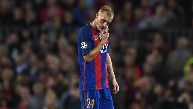La confesión de Mathieu que sorprendió al vestuario del Barça
