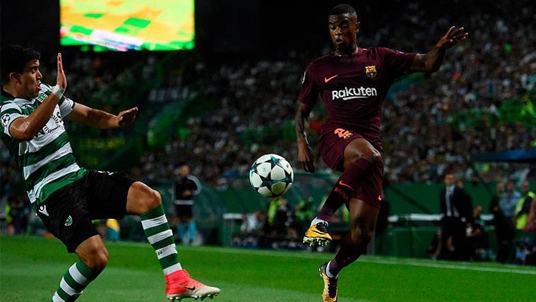 Semedo estrenó en Portugal su primer partido a domicilio