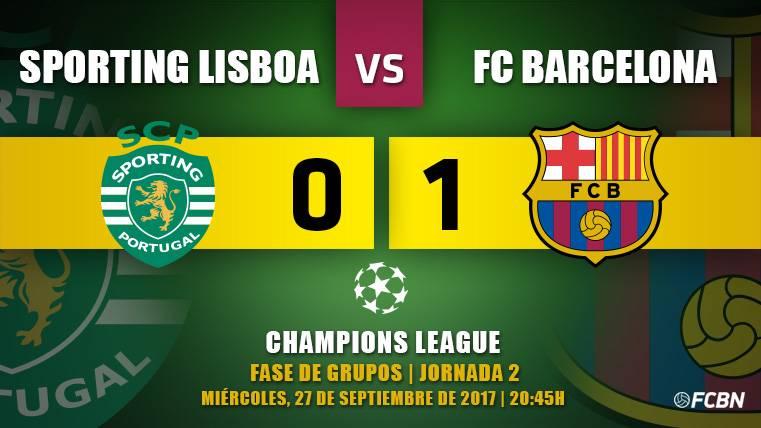 El FC Barcelona sufre pero acaba domando a los 'Leões'