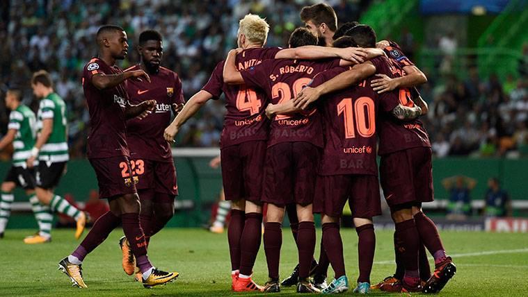 Este Barça no frena: Octava victoria y liderato en Champions