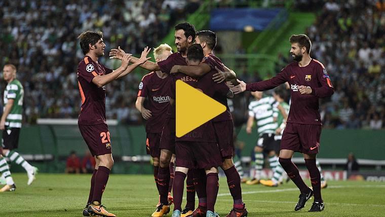 Vídeo resumen: Sporting 0 FC Barcelona 1 (Champions J2)