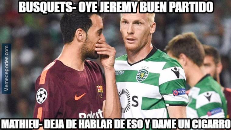 Estos son los mejores 'memes' del Sporting-FC Barcelona