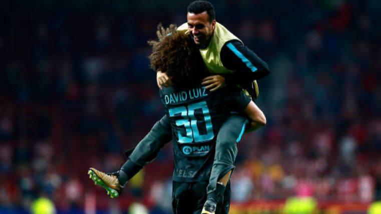 El Chelsea asalta el Wanda y deja tocado al Atlético