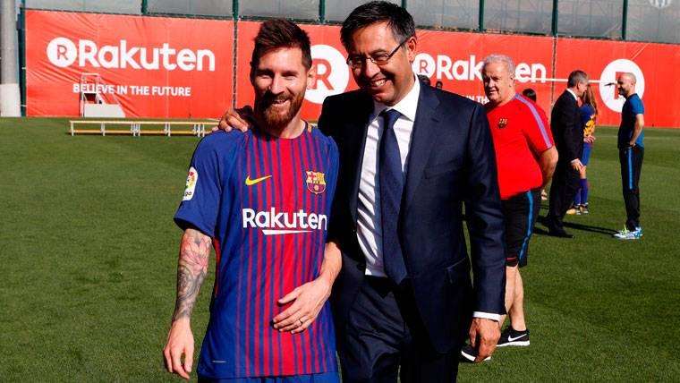 Bartomeu acompañará a Messi e Iniesta a la gala de la FIFA
