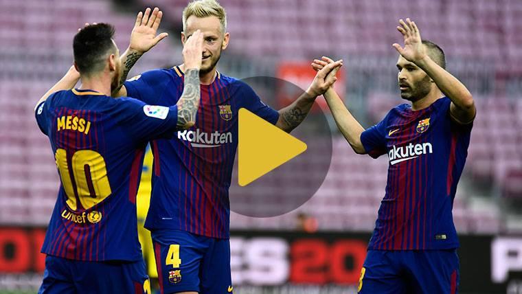 Vídeo resumen: Barcelona 3 UD Las Palmas 0 (LaLiga J7)