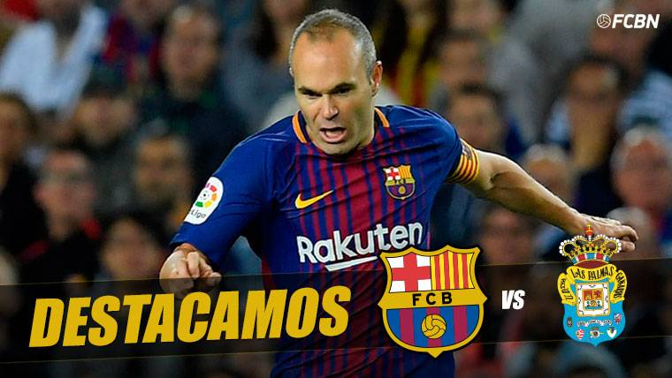 ALARMA: Iniesta abandonó el Barça-Las Palmas por lesión