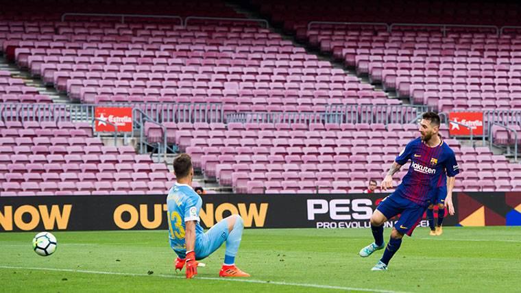 Messi, un 'Pichichi' que pone la directa hacia la Bota de Oro
