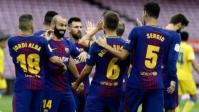 Dos jugadores del Barcelona eran partidarios de no jugar