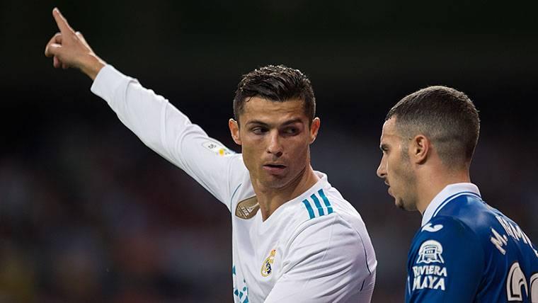 ¡Cristiano intentó agredir a un jugador del Espanyol!