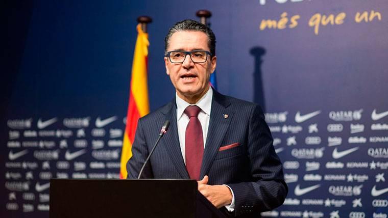 Josep Vives, el portavoz del FC Barcelona, en una imagen de archivo
