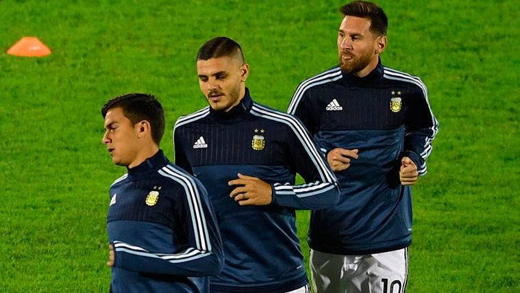 Paulo Dybala paga su falta de entendimiento con Leo Messi