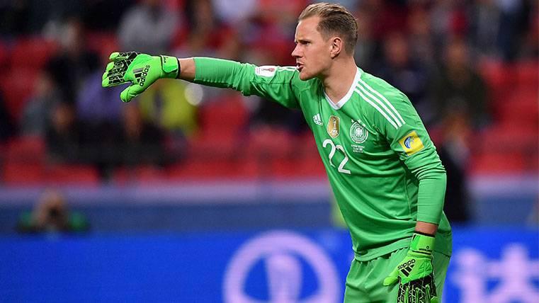La Alemania de Ter Stegen, a un punto del Mundial de Rusia