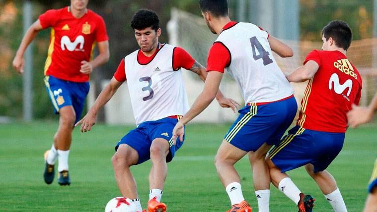 Un compromiso con el Barça B aleja a Aleñá de la Sub21