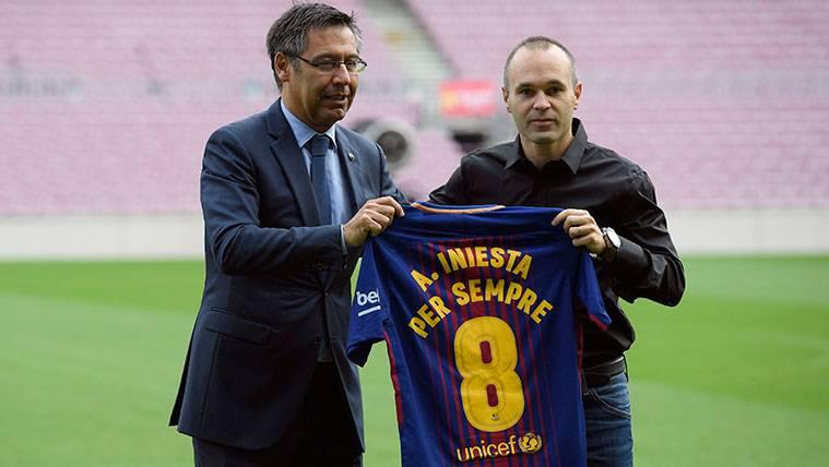Más detalles sobre el particular contrato de Andrés Iniesta
